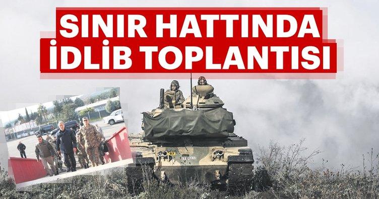 Sınır hattında İdlib toplantısı