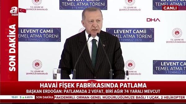 Son dakika: Cumhurbaşkanı Erdoğan'dan 'Barbaros Hayrettin Paşa Camii' temel atma töreninde flaş açıklamalar   Video