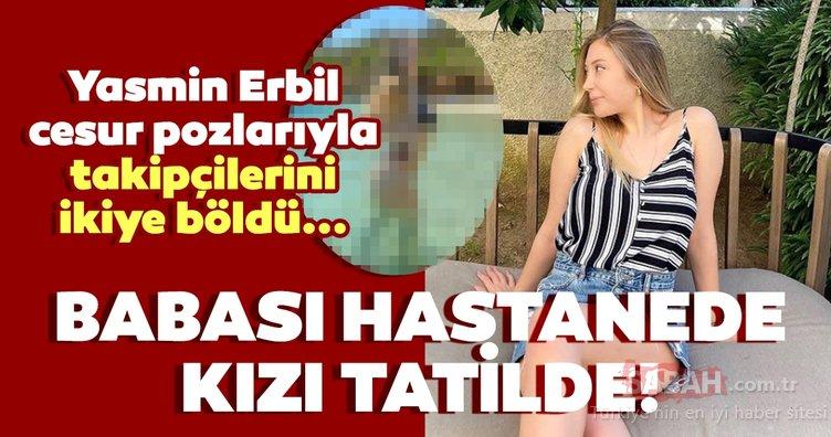 Yasmin Erbil'in bikinili paylaşımı takipçilerini ikiye böldü! Mehmet Ali Erbil'in kızı Yasmin Erbil'in cesur pozlarına tepki...