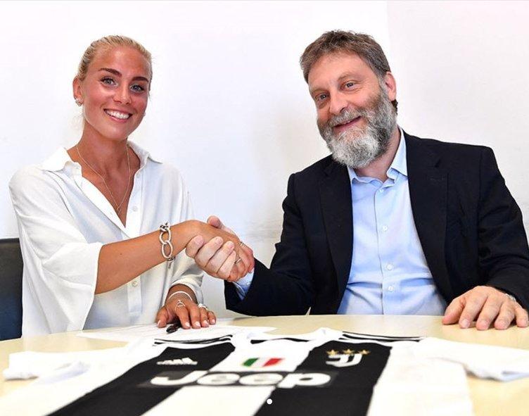 Juventus'tan Ronaldo'yu unutturan transfer: Petronella Ekroth