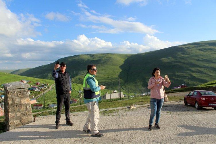 Ardahan'daki 'Atatürk silüeti' görülmeye başlandı