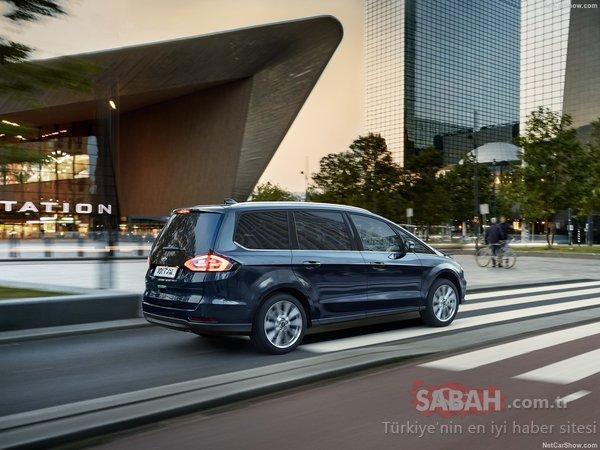 2020 Ford Galaxy ve Ford S-MAX ortaya çıktı! İşte özellikleri...