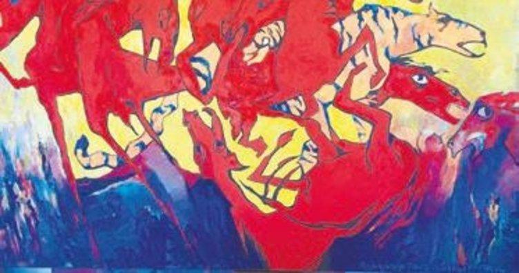 Kazakistanlı sanatçıların sergisi bugün açılıyor