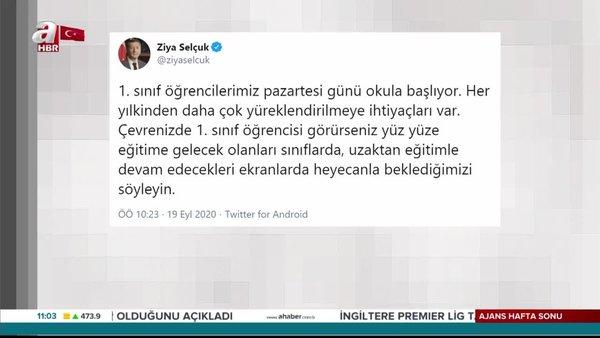 Milli Eğitim Bakanı Ziya Selçuk'tan flaş açıklama!
