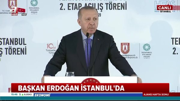 Başkan Erdoğan'dan Teknopark-İstanbul 2. Etap Açılış Töreni'nde flaş açıklamalar | Video