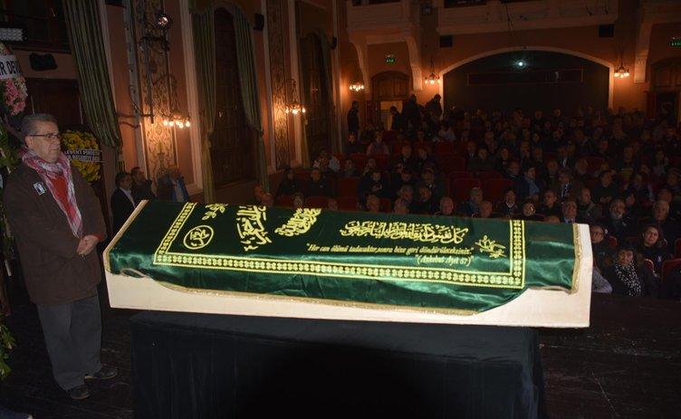 Turan Özdemir'e son veda