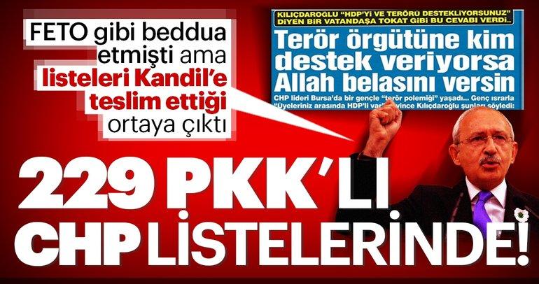 İşte CHP'nin 31 Mart seçimleri aday listesindeki PKK'lılar!