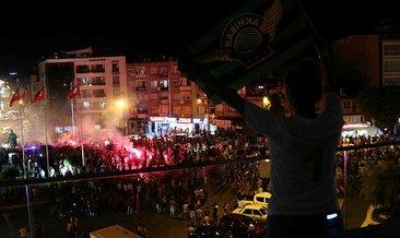 Akhisarspor'un Süper Kupa şampiyonluğu coşkuyla kutlandı