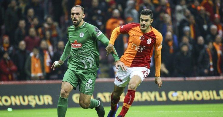 Galatasaray kritik puanları evinde bıraktı