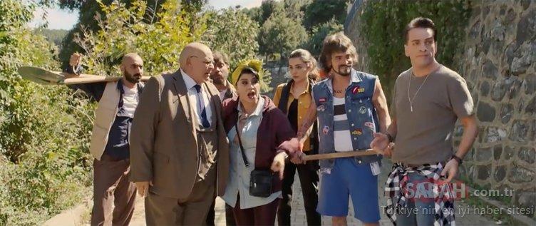 Baba Parası filminden özel kareler ortaya çıktı! Ahmet Kural yeni imajıyla herkesi şaşırttı