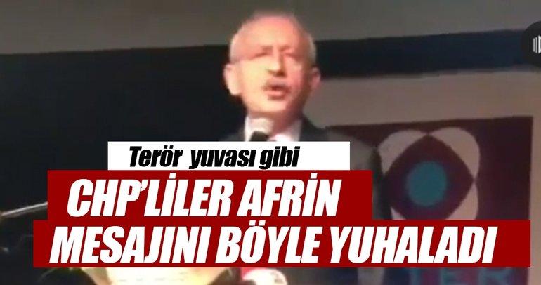 Askerlerimize dua etti diye Kılıçdaroğlu'nu yuhaladılar