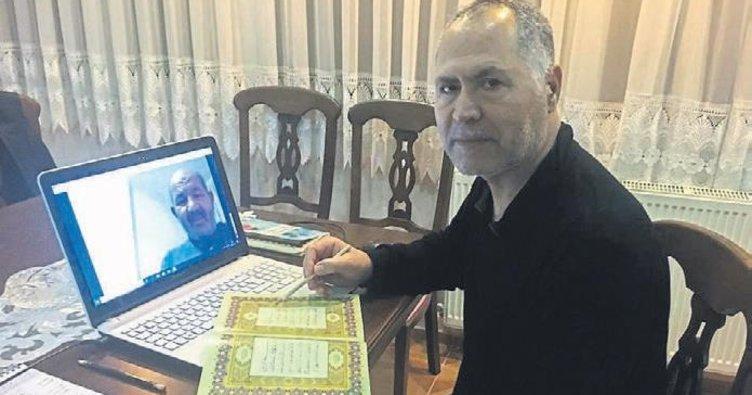 İzmirli imamdan canlı yayında ders