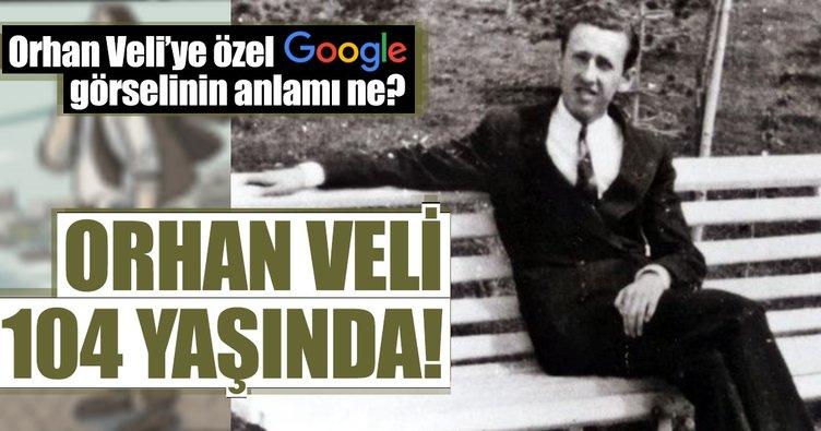 Orhan Veli Kanık 104 Yaş Gününde Googleın Anasayfa Görseli Oldu