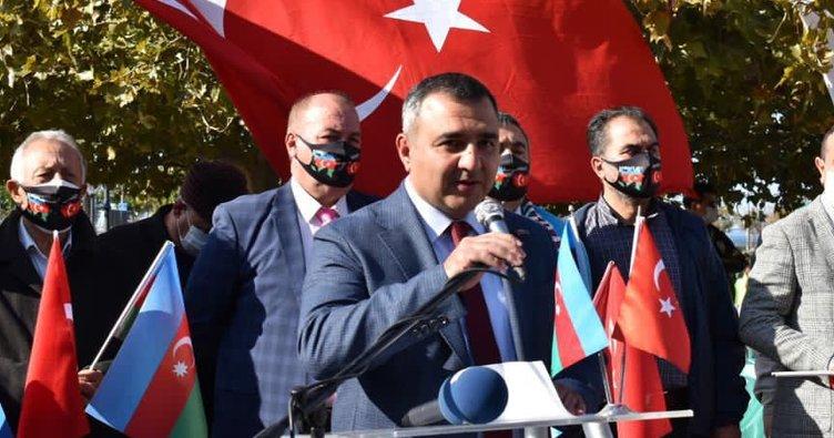 """""""Cumhurbaşkanı Erdoğan her daim Azerbaycan'ın yanında"""""""