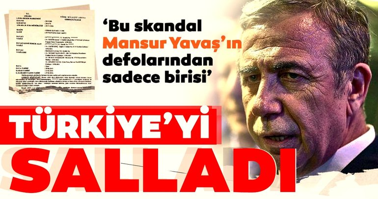 CHP'li Mansur Yavaş'ın sahte senet skandalı Türkiye'yi salladı!