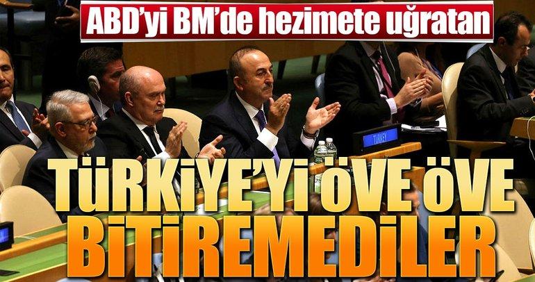 BM'de Türkiye'ye övgü üstüne övgü