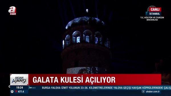 Galata Kulesi yeniden açılıyor   Video