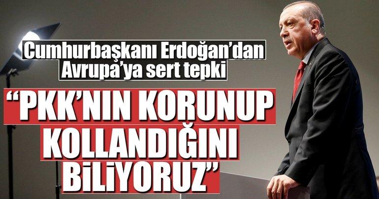 Cumhurbaşkanı Erdoğan'dan Avrupa'ya sert mesaj