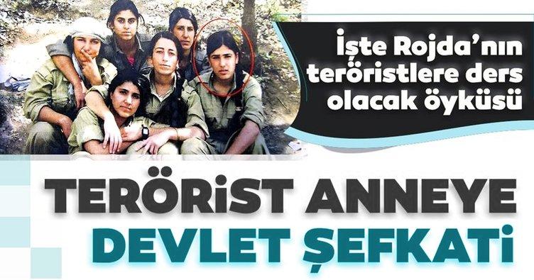 Son dakika haberler: Terörist anneye devlet şefkati! İşte Rojda'nın teröristlere ders olacak öyküsü