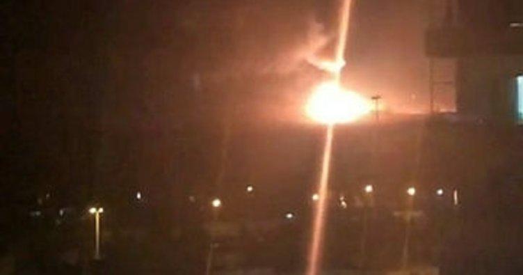 Son dakika: Şam'da mühimmat deposunda patlama