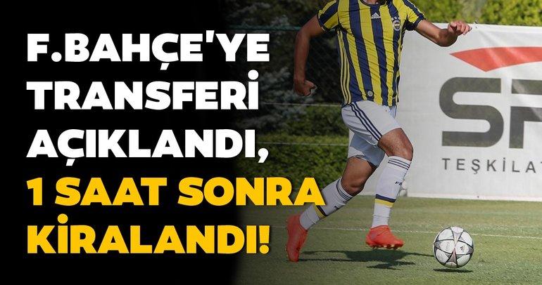 Son dakika transfer haberleri! Fenerbahçe'ye transferi açıklandıktan 1 saat sonra kiralandı