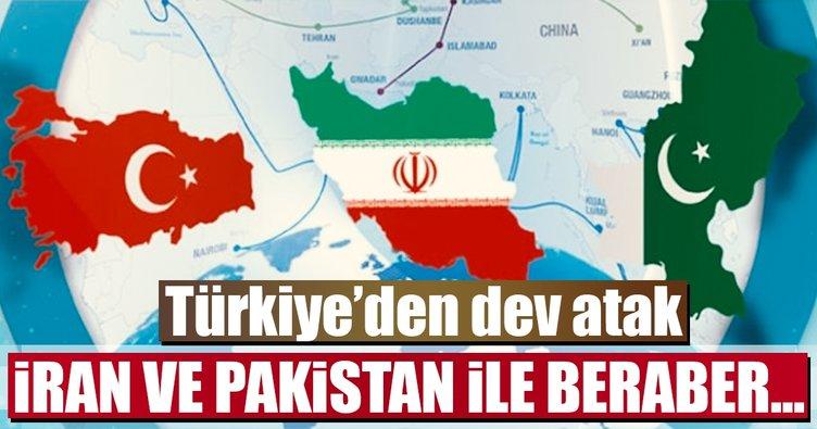 Türkiye'den dev atak... İran ve Pakistan ile beraber...