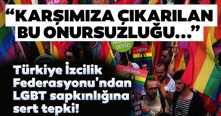 Türkiye İzcilik Federasyonundan LGBT sapkınlığına tepki: Kimliklerini cinsel arzuları üzerinden tanımlayan bu harekete karşıyız