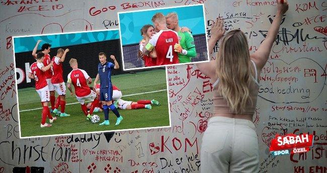 Son dakika: EURO 2020'de ölümden dönen Eriksen'den sürpriz istek! Hastaneye sipariş etti...