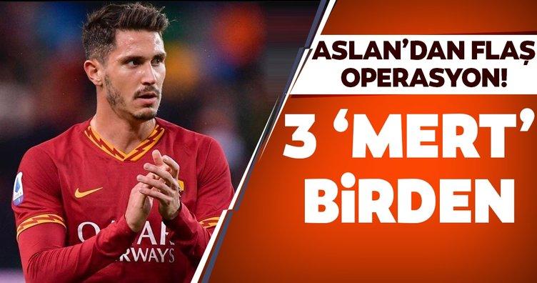 Galatasaray'dan flaş operasyon! 3 'Mert' birden