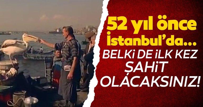 52 yıl önceki İstanbul! Belgeselden çıktı
