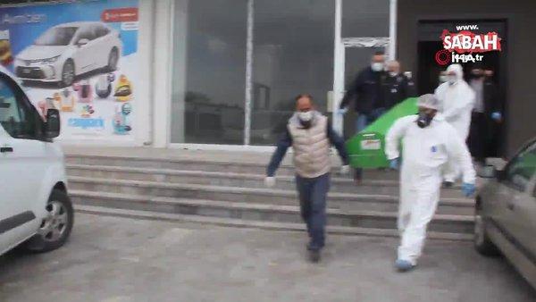 Evinde karantinadaki polis, beylik tabancasıyla vurulmuş halde bulundu | Video