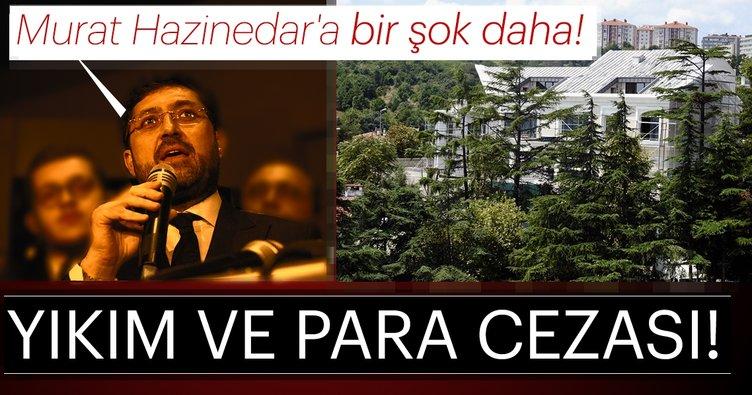 Son dakika: CHP'li Beşiktaş eski Belediye Başkanı Murat Hazinedar'ın malikânesine yıkım ve para cezası