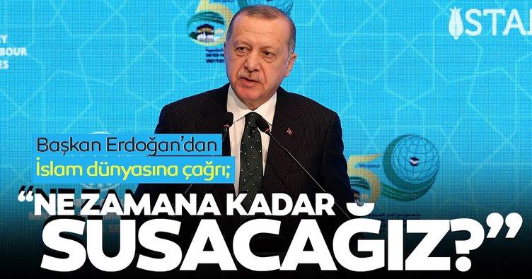 Başkan Erdoğan: Daha ne kadar sessiz kalacağız?