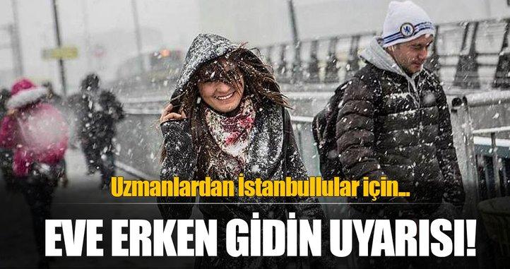 İstanbullular için yağış uyarısı!
