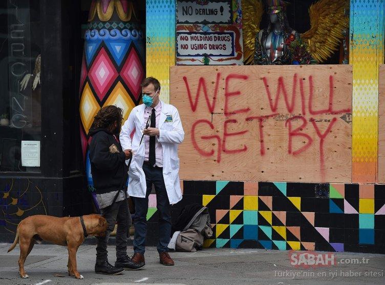ABD'de son dakika Coronavirüs gelişmesi: Oraya da sıçardı ve...