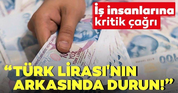 Bakan Varank'tan iş insanlarına çağrı: Türk Lirası'nın arkasında durun