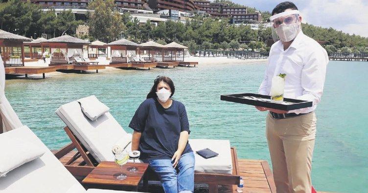 Siperlikler takıldı Bodrum tatilcileri bekliyor