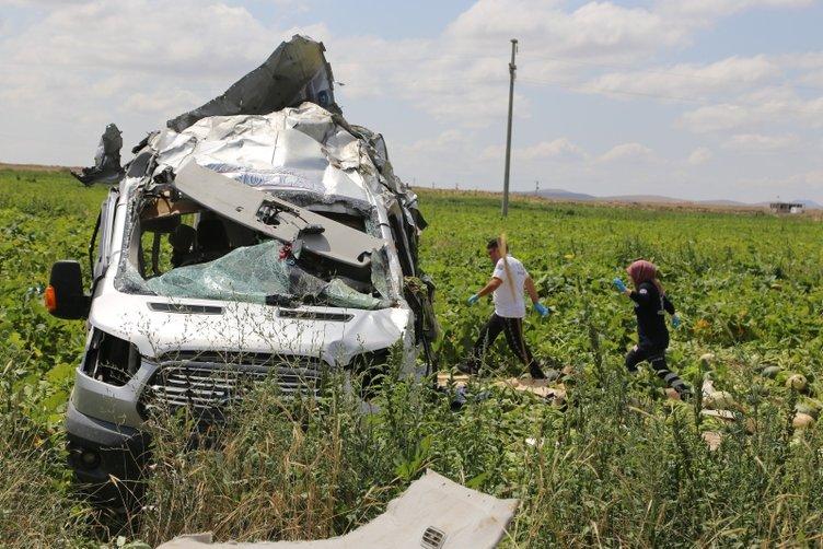 Nevşehir'de feci kaza! Ölü ve yaralılar var