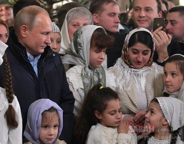 Putin yine şaşırttı! Önce dua etti ardından ateşledi
