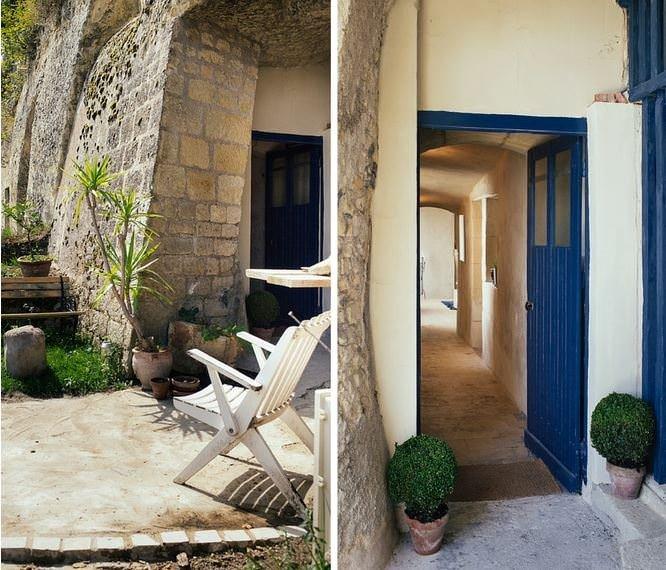 1 Euro'ya Satın Aldıkları Mağarayı Hayallerinin Evine Dönüştürmüşler