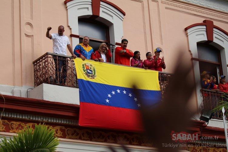 Son Dakika: Venezuela darbe girişimine karşı direniyor!