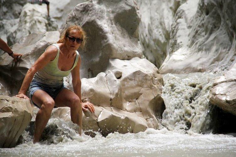 Maceracı turistlerin adresi Saklıkent Kanyonu