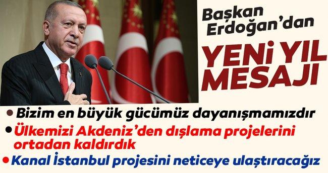 Başkan Recep Tayyip Erdoğan'dan yeni yıl mesajı - Son Dakika Haberler