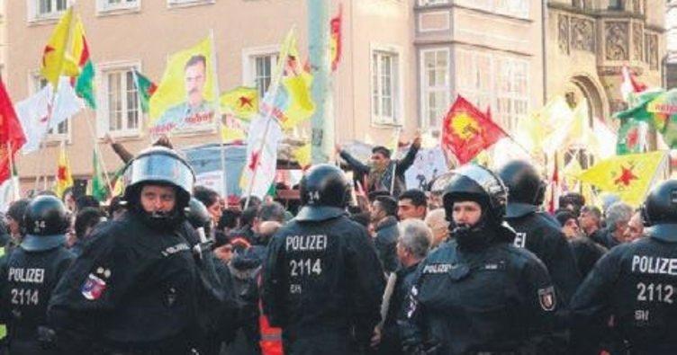 PKK'lılar Alman devlet TV'sini işgale kalkıştı
