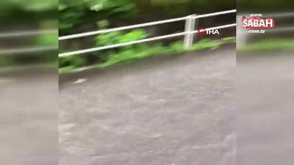 Japonya'daki sel felaketi! Nehirler taştı, binlerce ev elektriksiz kaldı... Ölü sayısı 52'ye yükseldi | Video