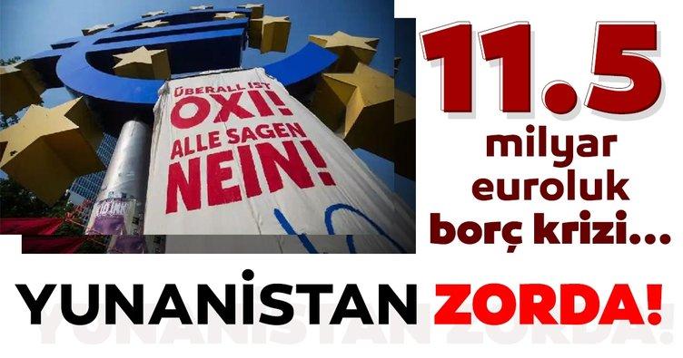 Atina Yönetimi zorda! 11.5 milyar euroluk borç krizi...