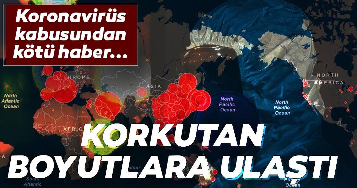 koronavirüs yayılan ülkeler