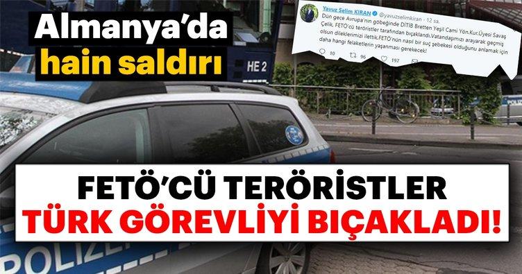 FETÖ'cü teröristler DİTİB görevlisini bıçakladı!