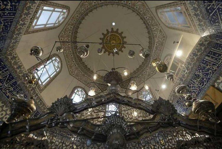 Eyüp Sultan Türbesi'nin restorasyondan sonraki hali