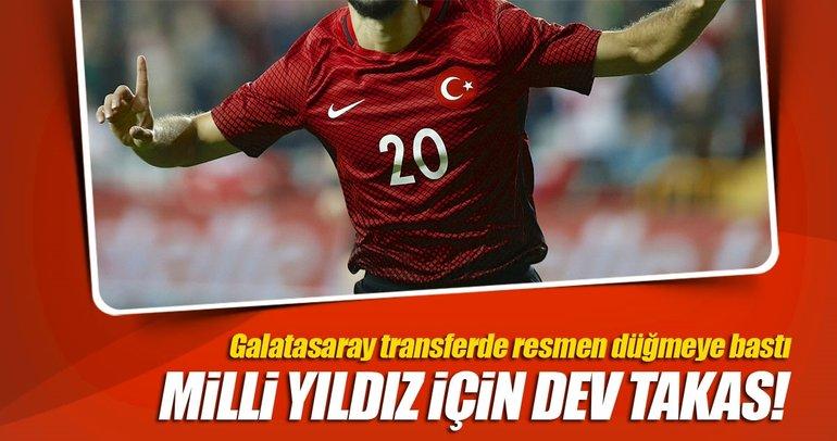 Galatasaray'dan Emre Akbaba için dev takas